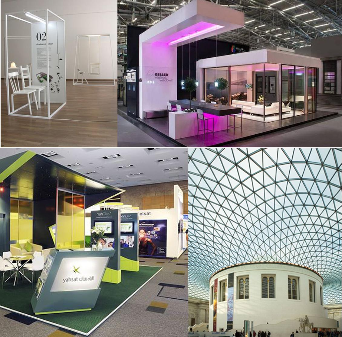 Exhibition Stall Materials : Exhibition booth fabrication u tilara polyplast